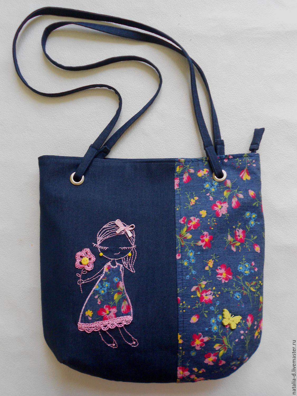 f560bb534119 Женские сумки ручной работы. Ярмарка Мастеров - ручная работа. Купить Текстильная  сумка 'Лето ...