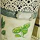 """Кашпо ручной работы. Кашпо """"Прованские Травы"""". Грабова Мария *M.Mariya.S*. Интернет-магазин Ярмарка Мастеров. Цветы"""