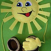 Куклы и игрушки ручной работы. Ярмарка Мастеров - ручная работа мягкая игрушка Солнышко. Handmade.