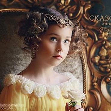 Работы для детей, ручной работы. Ярмарка Мастеров - ручная работа Королевский Желтый. Handmade.