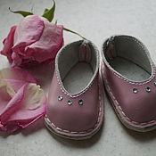 Куклы и игрушки ручной работы. Ярмарка Мастеров - ручная работа Розовые балетки для беби Анабель (Baby Annabell). Handmade.