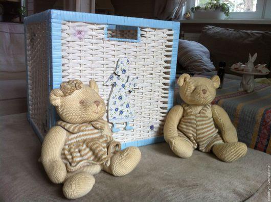 """Детская ручной работы. Ярмарка Мастеров - ручная работа. Купить Ящик для игрушек """"Ангел"""". Handmade. Белый, ящик для игрушек"""