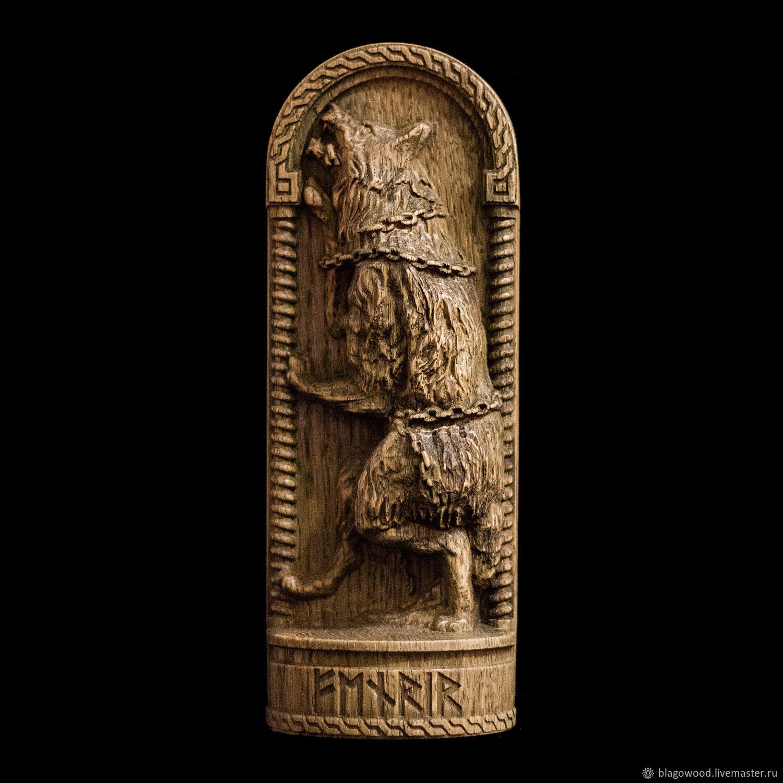 "Фенрир ""скандинавские боги"", Figurines, Kiev,  Фото №1"
