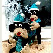 Куклы и игрушки ручной работы. Ярмарка Мастеров - ручная работа Обезьянка новогодняя. Handmade.