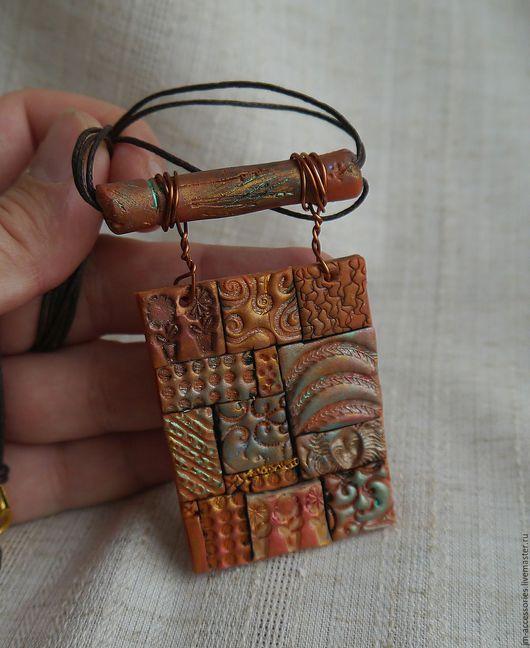 """Кулоны, подвески ручной работы. Ярмарка Мастеров - ручная работа. Купить Подвеска """"Марокко 2"""". Handmade. Рыжий, марокко"""