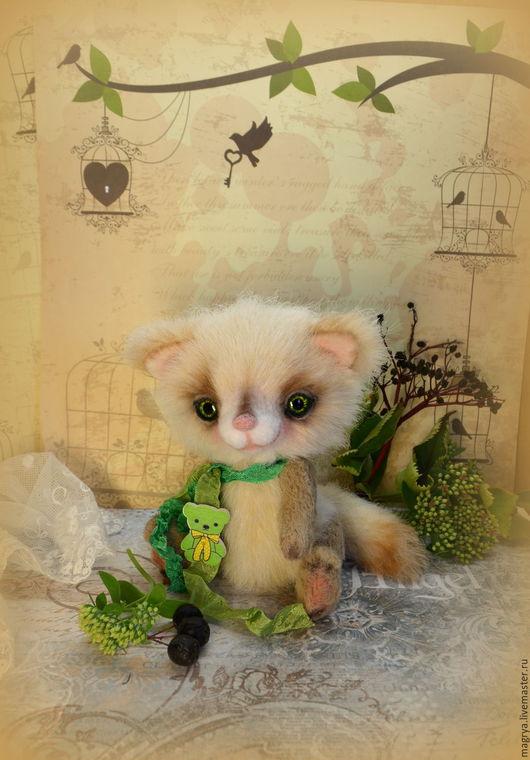 Мишки Тедди ручной работы. Ярмарка Мастеров - ручная работа. Купить Котик Вилмар Игрушка Тедди. Handmade. игрушки тедди