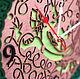 Часы для дома ручной работы. Часы настенные Кельтская Ящерица. WOODANDROOT. Ярмарка Мастеров. Орнамент, кухонные часы, акриловая краска