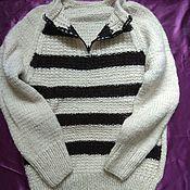 Одежда handmade. Livemaster - original item Jumper.Fleece.52-54r-R. Handmade.