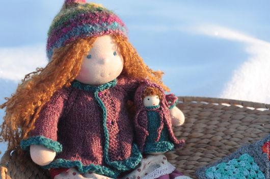 Лисселотта 35 см .Вальдорфские куклы.Julia Solarrain (SolarDolls) Ярмарка Мастеров