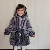 Одежда детская handmade. Livemaster - original item Baby fur coat for baby