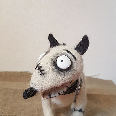 Куклы и игрушки ручной работы. Ярмарка Мастеров - ручная работа Игрушки: Спарки - Sparky Frankenweenie. Handmade.