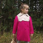 Работы для детей, handmade. Livemaster - original item Coat