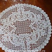 Для дома и интерьера ручной работы. Ярмарка Мастеров - ручная работа столешник кружевной. Handmade.