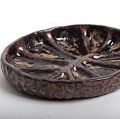 Посуда ручной работы. Ярмарка Мастеров - ручная работа Керамическая форма -скорлупа ореха.. Handmade.