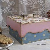 """Для дома и интерьера ручной работы. Ярмарка Мастеров - ручная работа Шкатулка """"Сладкий стол"""". Handmade."""