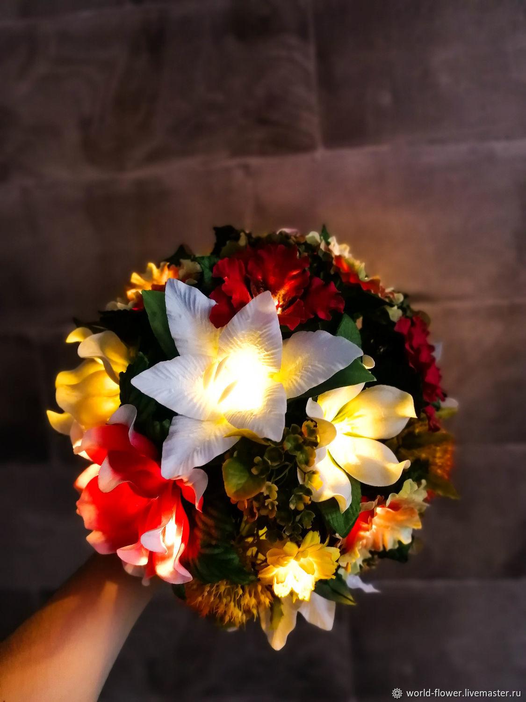 Bouquet lamp 'Forest fairy', Nightlights, Surgut,  Фото №1