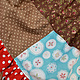 Одежда для девочек, ручной работы. Платье кантри коричневое лоскутное розы горошки хлопок 3 4 г. Camilla Reynolds. Ярмарка Мастеров.