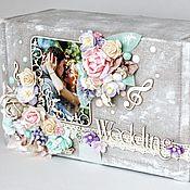 Свадебный салон ручной работы. Ярмарка Мастеров - ручная работа Фотобокс свадебный. Handmade.