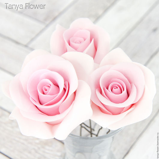 Свадебные украшения ручной работы. Ярмарка Мастеров - ручная работа. Купить Набор шпилек с розовыми розами (3 шт). Handmade.