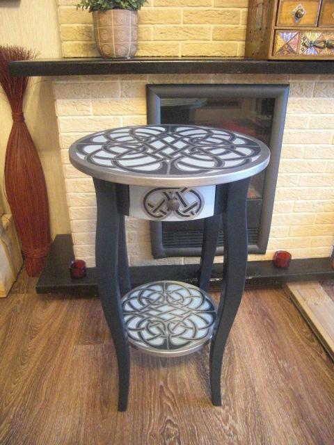 """Мебель ручной работы. Ярмарка Мастеров - ручная работа. Купить Столик """"Кельтский оберег"""". Handmade. Кельтский орнамент, журнальный столик"""