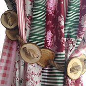 Для дома и интерьера ручной работы. Ярмарка Мастеров - ручная работа Подхват для штор из спилов. Handmade.