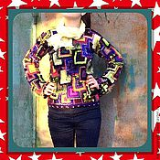 """Одежда ручной работы. Ярмарка Мастеров - ручная работа Распродажа!!! Джемпер """"это не он !"""". Handmade."""