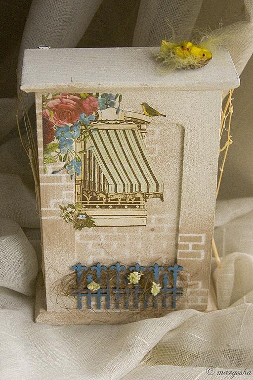 """Прихожая ручной работы. Ярмарка Мастеров - ручная работа. Купить Ключница """"Home Sweet Home"""". Handmade. Интерьер, домик для ключей"""