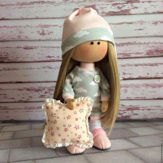 Коллекционные куклы ручной работы. Ярмарка Мастеров - ручная работа. Купить Сонюшка. Handmade. Комбинированный, куклы и игрушки, все для дома