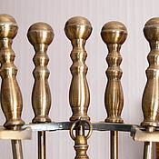 Винтаж ручной работы. Ярмарка Мастеров - ручная работа Каминный набор Каминный помощник пять предметов для Вашего камина. Handmade.