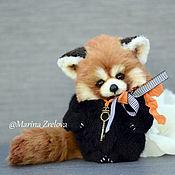 Куклы и игрушки ручной работы. Ярмарка Мастеров - ручная работа Красная панда. Handmade.