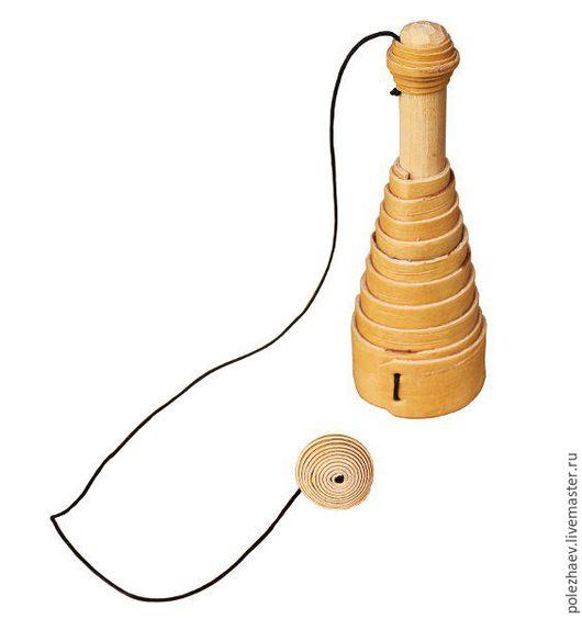 Развивающие игрушки ручной работы. Ярмарка Мастеров - ручная работа. Купить Ловилка. Handmade. Береста, игрушка, береста