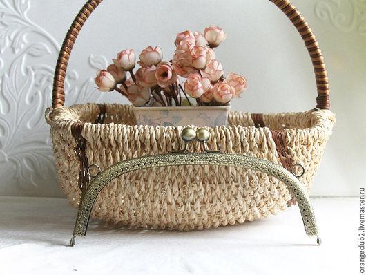 Другие виды рукоделия ручной работы. Ярмарка Мастеров - ручная работа. Купить 20,5 см Фермуар пришивной арка. Handmade.