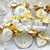"""Подарки к праздникам ручной работы. Ярмарка Мастеров - ручная работа Набор """"Мой ангел золотой"""". Handmade."""