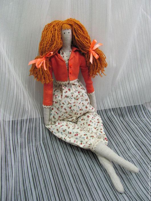 Куклы Тильды ручной работы. Ярмарка Мастеров - ручная работа. Купить Эмма- интерьерная кукла в стиле Tilda из натуральных тканей. Handmade.