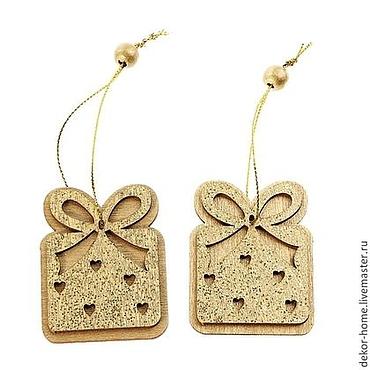 Materials for creativity handmade. Livemaster - original item Pendant with gold sequins Gift 2 pieces per set. Handmade.