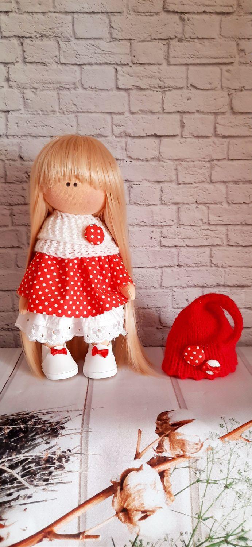 Текстильная интерьерная кукла Барбариска, Куклы Тильда, Сочи,  Фото №1