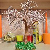 Цветы и флористика ручной работы. Ярмарка Мастеров - ручная работа Сакура из бисера. Handmade.
