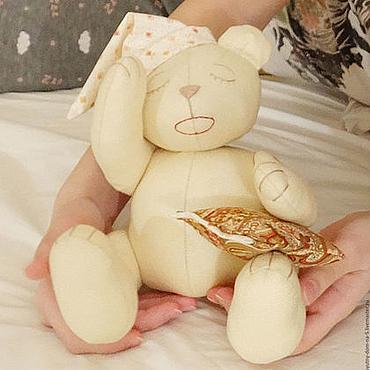 """Куклы и игрушки ручной работы. Ярмарка Мастеров - ручная работа Игрушка для ребенка """"Спящий мишка"""".. Handmade."""