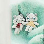 Украшения ручной работы. Ярмарка Мастеров - ручная работа кото-панды сестрички (резерв). Handmade.
