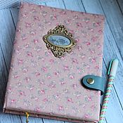 Канцелярские товары handmade. Livemaster - original item Floral Notepad. Handmade.