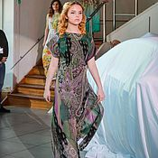 Одежда ручной работы. Ярмарка Мастеров - ручная работа Платье трансформирующееся из шифона «Монако». Handmade.