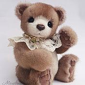 Куклы и игрушки ручной работы. Ярмарка Мастеров - ручная работа Любимчик. Медвежонок из натурального меха.. Handmade.