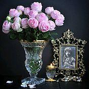 Винтаж ручной работы. Ярмарка Мастеров - ручная работа Хрустальная ваза Версаль. Handmade.