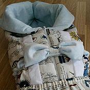 """Работы для детей, ручной работы. Ярмарка Мастеров - ручная работа Одеяло-трансформер """"Морячек"""". Handmade."""