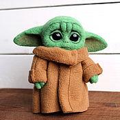 Куклы и игрушки handmade. Livemaster - original item Baby Yoda baby Yoda toy. Handmade.