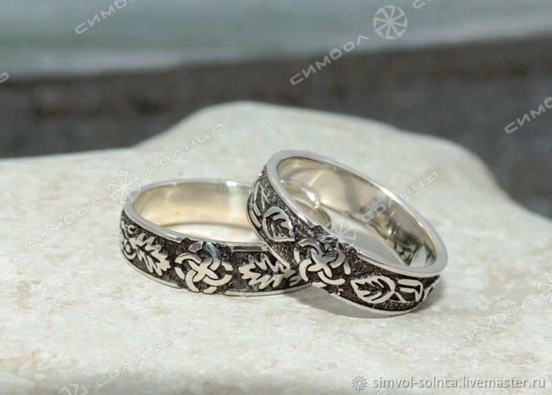 Wedding rings IN LEAVES, Folk decorations, Sochi,  Фото №1