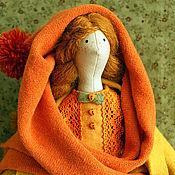 Куклы и игрушки ручной работы. Ярмарка Мастеров - ручная работа Физалис.Девочка - осень.. Handmade.