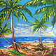 Seascape oil 'on the ocean'. Pictures. Lifia Art. Online shopping on My Livemaster.  Фото №2