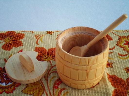 Посуда ручной работы. Ярмарка Мастеров - ручная работа. Купить Деревянный бочонок. Handmade. Деревянный бочонок, Деревянная посуда, бочонок
