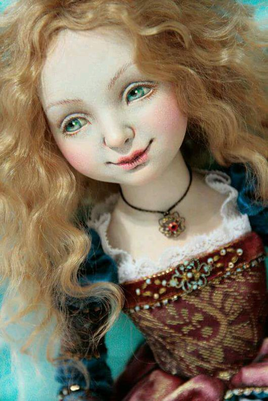 Коллекционные куклы ручной работы. Ярмарка Мастеров - ручная работа. Купить Венеция авторская кукла из ладолла статичная 35см. Handmade.